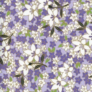 Origami Paper Pattern Free Download - Blue Flower