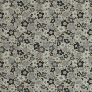 Origami Paper Pattern Free Download - Grey Flower