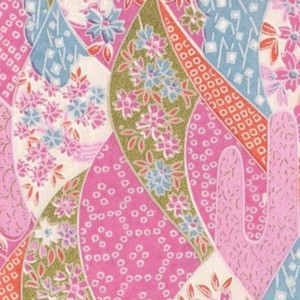 Origami Paper Pattern Free Download - Pink Mountain
