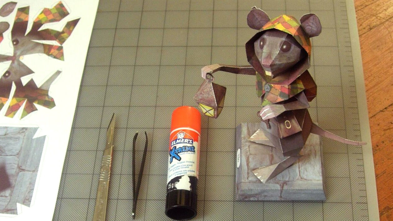 Ghost of tale - Tilo papercraft model